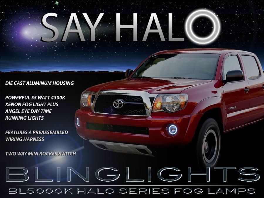 2005-2011 Toyota Tacoma Angel Eye Fog Lamps Halo Driving Lights