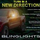 Toyota Tacoma LED Side View Mirror Turn Signal Lights Signaler Lamp Set