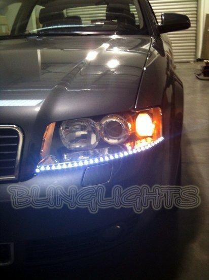 Audi A3 LED DRL Head Light Strips Day Time Running Lamp Kit