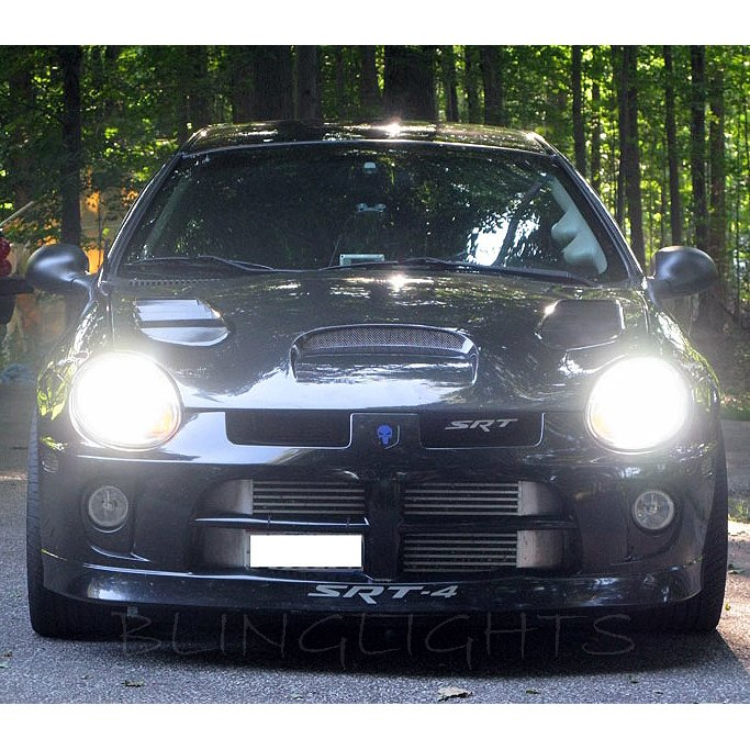 2000 2001 2002 2003 2004 2005 Dodge Neon Bright Light Bulbs Headlamps Headlights Head Lamps Lights
