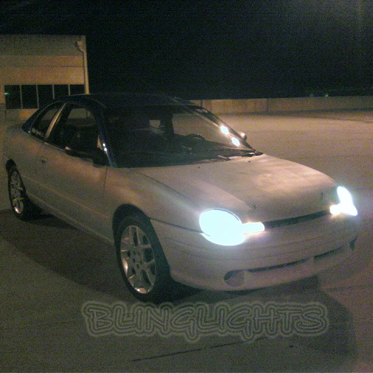 1995 1996 1997 1998 1999 Dodge Neon Bright Light Bulbs for Headlamps Headlights Head Lamps Lights