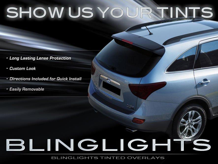 Hyundai Veracruz ix55 Tinted Smoked Taillamp Taillights Overlays Film Protection