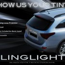 Hyundai Veracruz ix55 Tinted Smoked Taillamp Taillights Overlays Film Protection