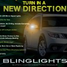 Saab 9-3 9-3X Turbo X 93 Side Mirror LED Turnsignals Turn Signals Signalers Mirrors Lights Lamps
