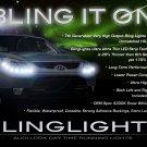 Hyundai Veracruz ix55 LED DRL Strips Headlamps Headlights Head Lamps Day Time Running Strip Lights