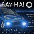 2008 2009 2010 Hyundai i10 Halo Angel Eye Foglamps Foglights Driving Fog Lamps Halos Eyes Lights Kit
