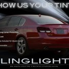 2006-2012 Lexus GS Tinted Tail Lamp Light Overlay Kit Smoked GS300 GS350 GS430 GS450h GS460