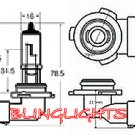 H10 Xenon White Halogen Light Bulbs for Driving Fog Lamps Lights Foglamps Foglights Lamp Light