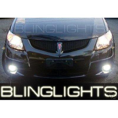 2005 2006 2007 2008 Pontiac Vibe Xenon Foglamps Foglights Driving Fog Lamps Lights Kit