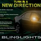 Pontiac G6 Side View Mirror LED Turnsignal Accent Lights Mirrors Turn Signal Lamps Signalers