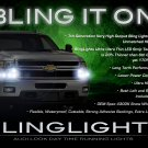 Chevy Avalanche LED DRL Strip Lights Headlamps Headlights Head Lamps Day Time Running Chevrolet DRLs