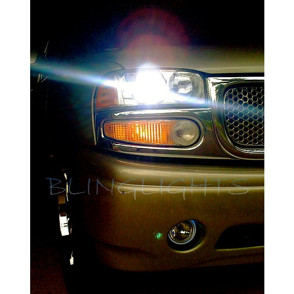 GMC Yukon Bright Light Bulbs for GMT900 GMT800 GMT400 Halogen Headlamps Headlights Head Lamps Lights