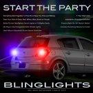 2008 2009 Saturn Astra Strobe Lights Headlamps Headlights Taillamps Taillights Head Lamps Strobes