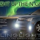 2008 2009 2010 Saturn Vue Xenon Fog Lamps Driving Lights Foglamps Foglights Kit XE XR Green Hybrid