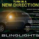 Saturn Vue LED Side View Mirror Turnsignal Lights Turn Signal Lamps LEDs Mirrors Signals Signalers