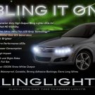 Saturn Astra LED DRL Head Lamp Light Strips Kit Day Time Running