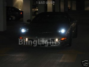 Chevrolet Chevy Corvette C5 Bright White Light Bulbs for Headlamps Headlights Head Lamps Lights