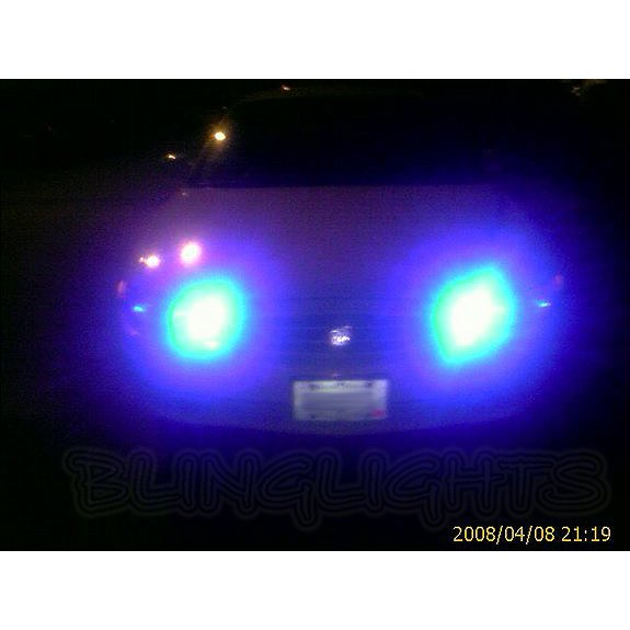 Buick Regal 15000K Deep Blue Head Lamp LED Light Bulbs Pair of 2