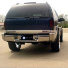 GMC Jimmy Tint Smoke Overlays for Taillamps Taillights Tail Lamps Lights Tinted Smoked Film