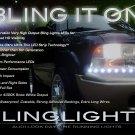 GMC Jimmy LED DRL Strips Headlamps Headlights Head Lamps Lights 1995 1996 1997 1998 1999 2000 2001