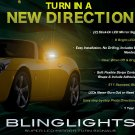 2006-2009 Pontiac Solstice Side Mirror LED Turnsignals Lights Turn Signals Lamps Mirrors Signalers