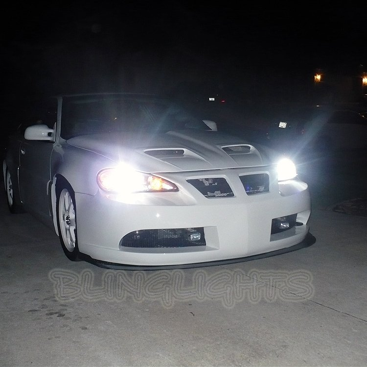 1999-2005 Pontiac Grand Am Bright Light Bulbs for Headlamps Headlights Head Lamps Lights