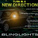 Subaru Legacy LED Side Mirrors Turnsignals Lights Accents Turn Signals Lamps Blinkers Signalers