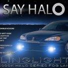 Pontiac Grand Am Halo Fog Lamps Lights 1999 2000 2001 2002 2003 2004 2005