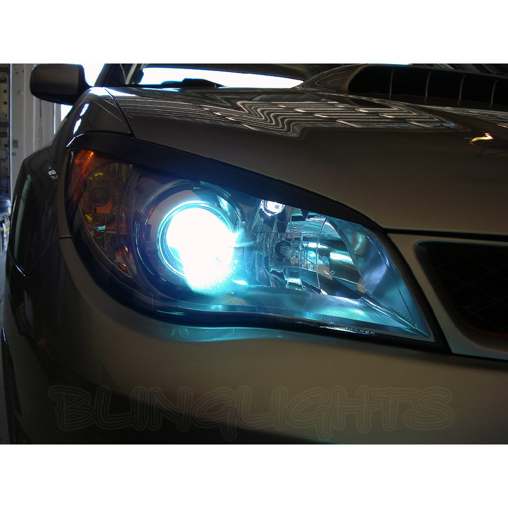 2006 2007 Subaru Impreza Bright Head Lamps Light Bulbs Replacement Upgrade