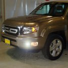 2009 2010 2011 Honda Ridgeline Xenon Bumper Foglamps Foglights Fog Lamps Driving Lights Kit