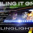 2008 2009 Pontiac G8 LED DRL Headlight Strips Daytime Running Lights