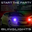 Hyundai Veloster Strobe Lights Headlamps Taillamps Headlights Taillights Head Tail Lamps Strobes Kit