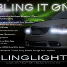 Chrysler Grand Voyager LED DRL Light Strips Headlamps Headlights Head Lights Strip Lamps LEDs DRLs
