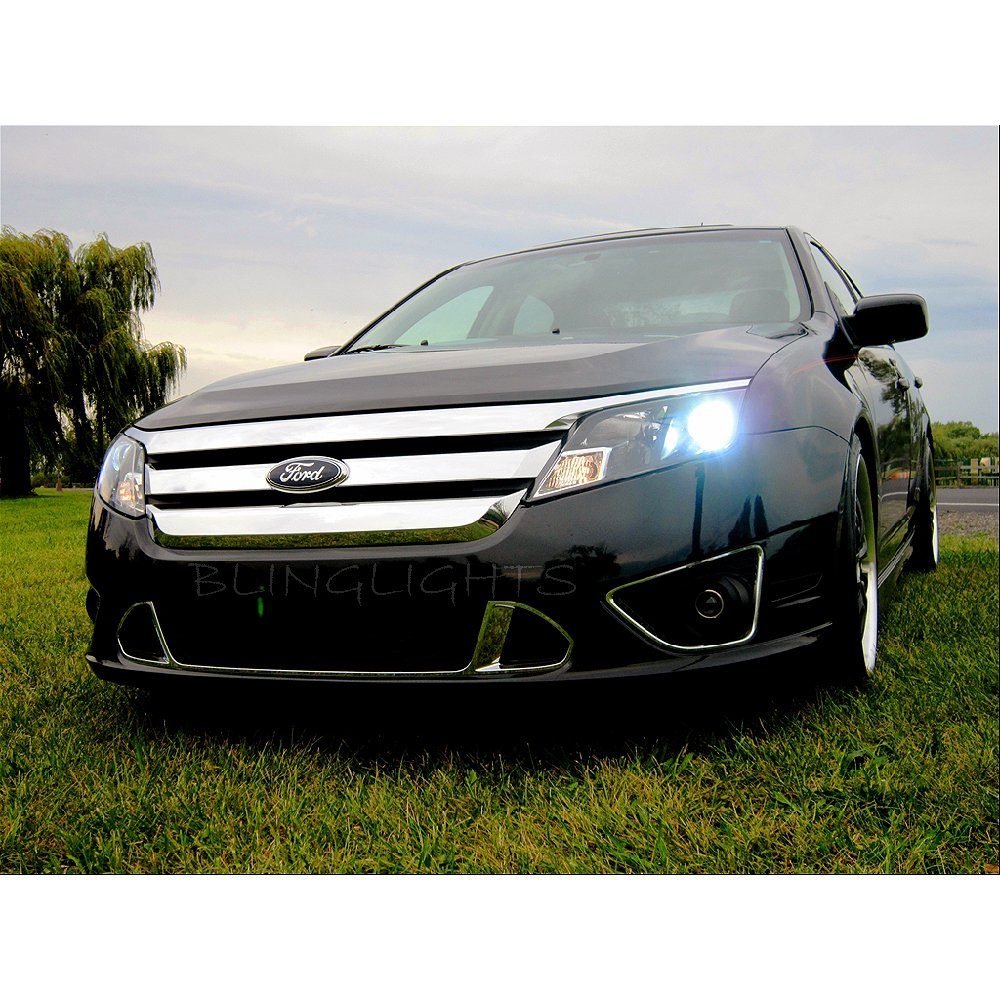 White Ford Fusion Used >> 2010 2011 2012 Ford Fusion Bright Light Bulbs for Halogen Headlamps Headlights Head Lamps Lights