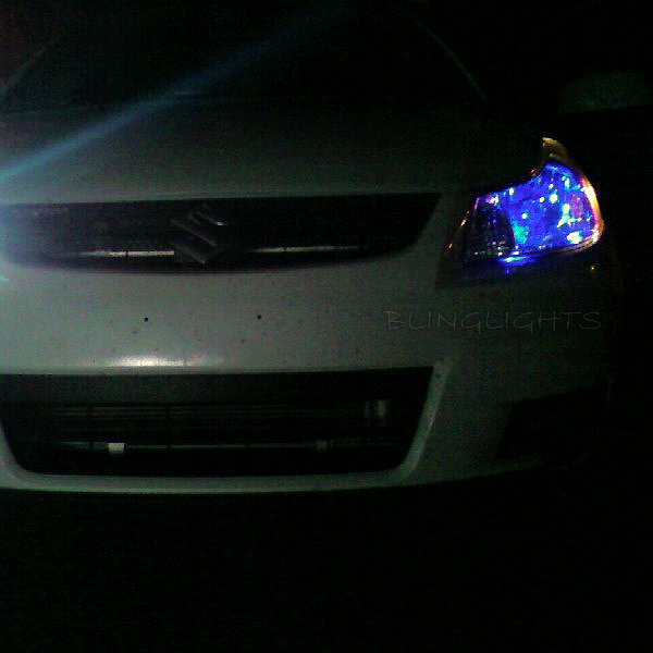 Suzuki SX4 Police Strobe Light Kit for Headlamps Headlights Head Lamps Strobes Lights