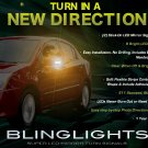 Nissan Sentra LED Side Mirror Turnsignals Lights Accents Mirrors Turn Signals LEDs Signalers Lamps