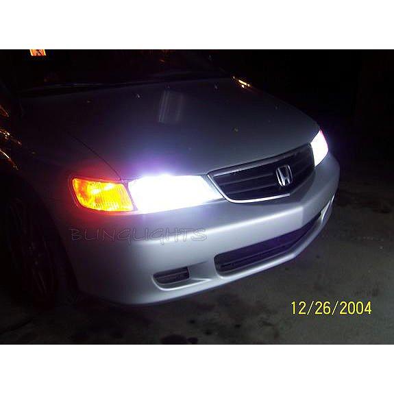 Honda Odyssey Bright White Head Lamp Light Bulbs Replacement Upgrade