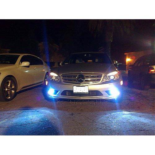 2008 2009 2010 Mercedes C-Class Estate Fog Lamps Lights C180 C200 K C220 C63 AMG c 180 200 220 w204