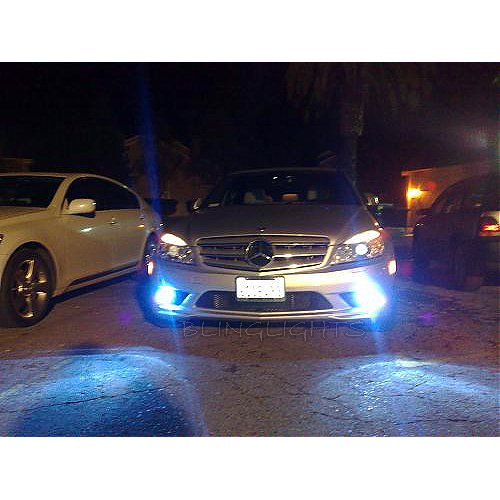 2009 2010 2011 Mercedes R230 SL Fog Lamps Lights Kit Foglamps Drivinglights SL 300 350 550 63 65 AMG