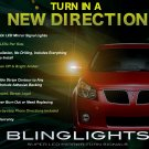 Pontiac Vibe Side View LED Mirror Turnsignals Lights Turn Signals Lamps Mirrors Light Signalers