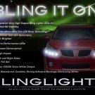 Pontiac Vibe LED DRL Light Strips Headlamps Headlights Head Lights Strip Lamps LEDs DRLs