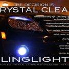 2008 2009 2010 Mercedes C63 AMG LED Fog Lights Driving Lamps Foglamps Foglights Kit C 63 w204