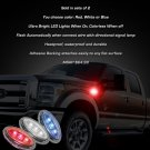Ford F-750 Super Duty LED Flush Mount Turn Signal Lights Side Marker Accent Lamps