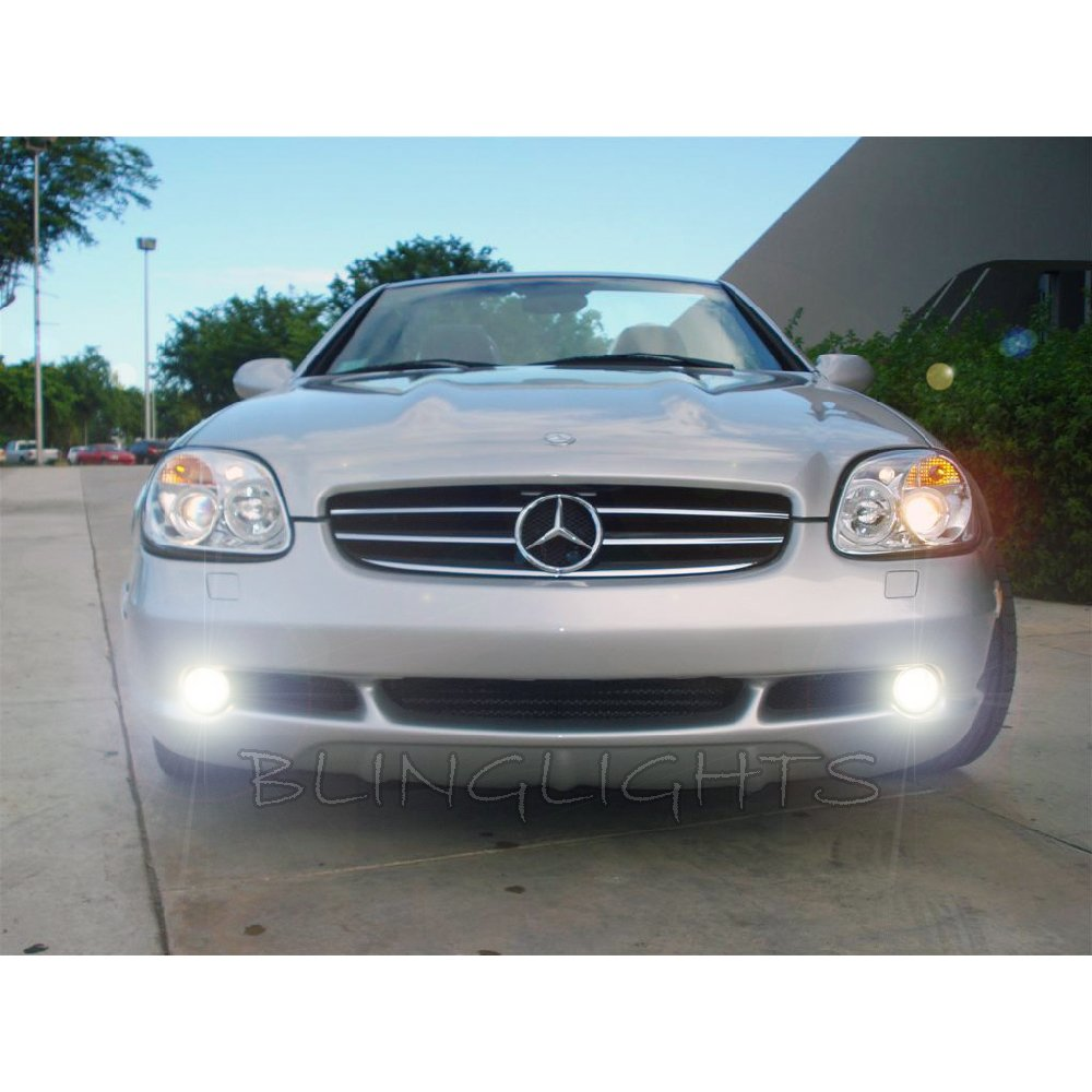 1996 1997 1998 1999 2000 mercedes benz slk 200 led foglamps driving fog lamps r170 slk200 lights kit. Black Bedroom Furniture Sets. Home Design Ideas