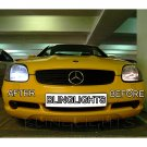 2001 2002 2003 2004 Mercedes-Benz SLK R170 Bright White Light Bulbs for Halogen Headlamps Headlights