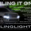 Ford F-150 F150 LED DRL Light Strips Headlamps Headlights Head Lamps Day Time Running Strip Lights