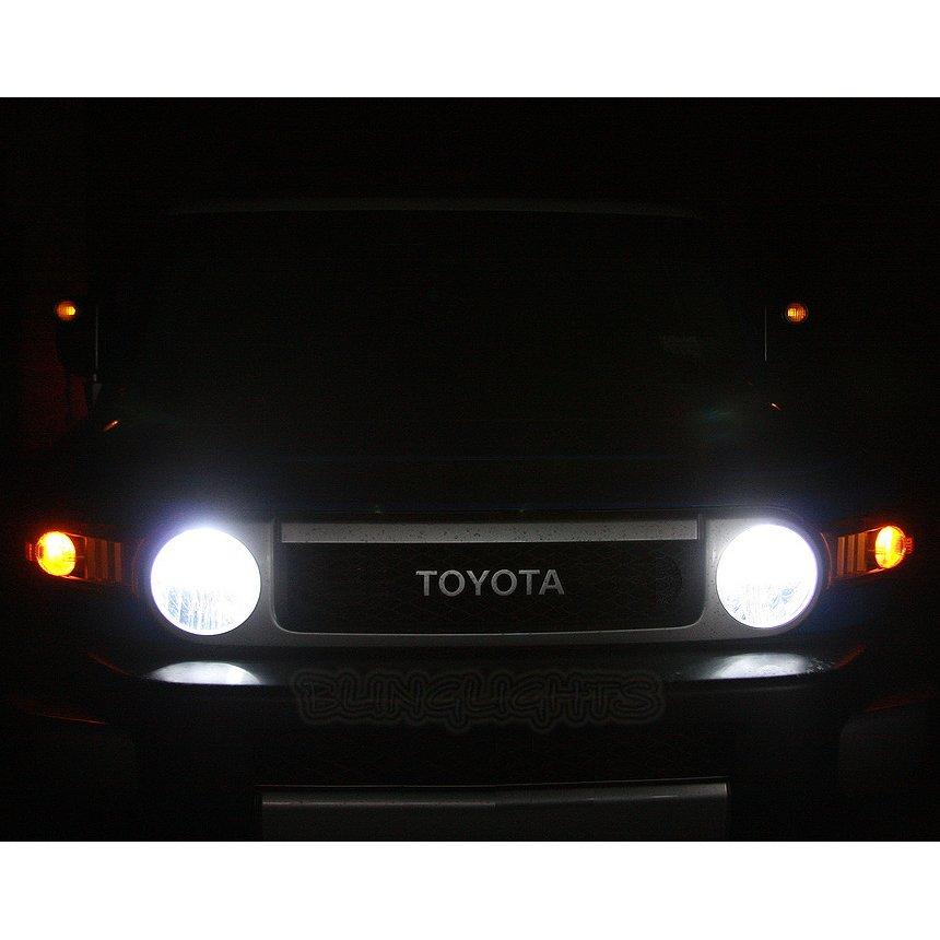 Toyota FJ Cruiser Bright White Light Bulbs for Headlamps Headlights Head Lamps Lights