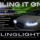 Chrysler LHS LED DRL Light Strips for Headlamps Headlights Head Lamps Day Time Running Strip Lights