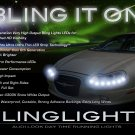 Chrysler Concorde LED DRL Light Strips Headlamps Headlights Head Lamps Day Time Running Strip Lights