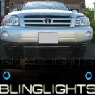 2001 2002 2003 2004 2005 2006 2007 Toyota Kluger Halo Fog Lamps Lights